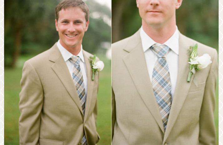 Groom's Style Guide ~ Design Suits