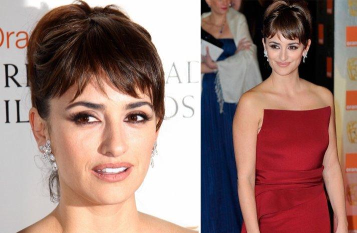 2012 bafta awards wedding hair makeup inspiration from red carpets penelope cruz