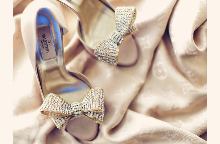 beaded bridal heels valentino