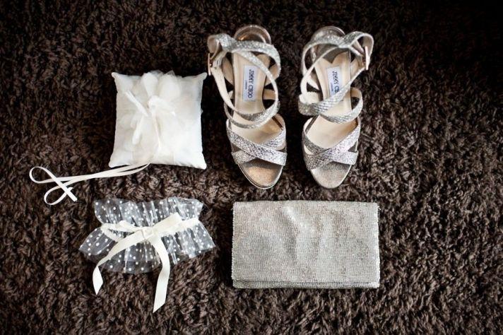 bridal accessories Jimmy Choo wedding shoes