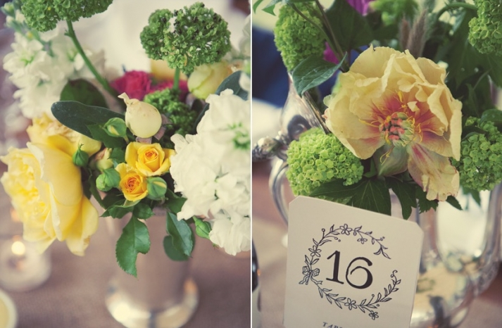 wedding reception table numbers vintage inspired wedding photography bright wedding blooms centerpieces