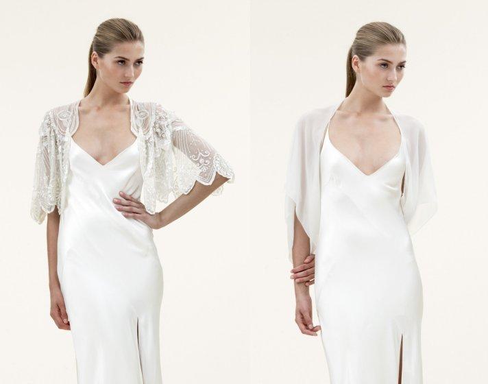 2012 wedding trends sheer bridal capes jenny packham