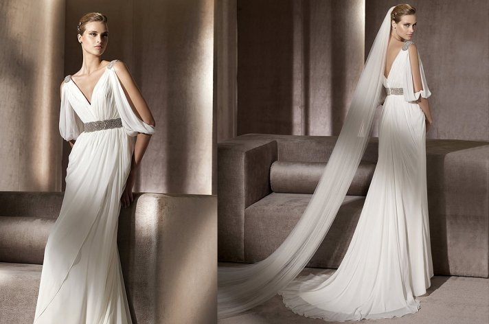 Wedding Gown With Cape: 2012 Bridal Style Trend: Cape Toppers