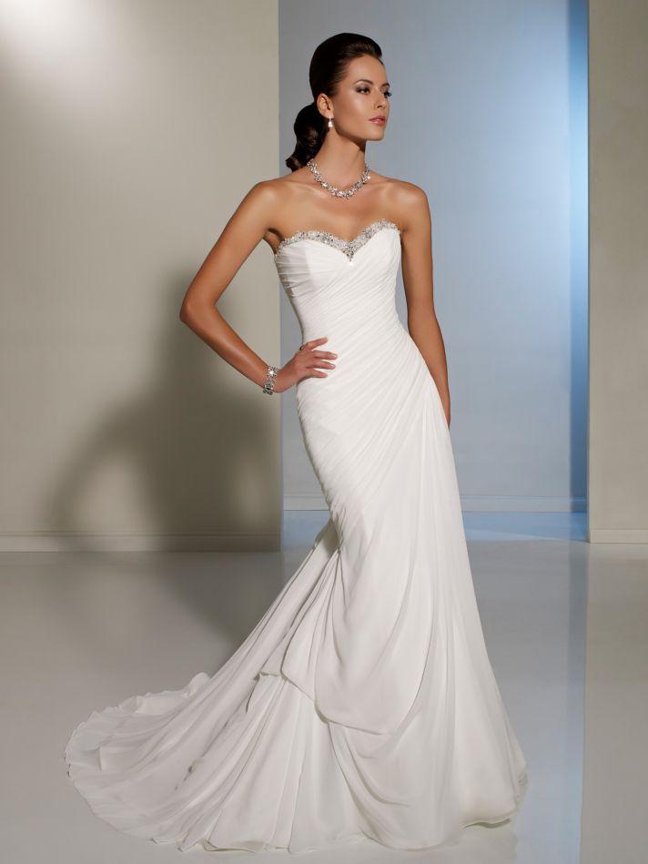 2012 wedding dress sophia tolli for mon cheri bridal gowns Y11225