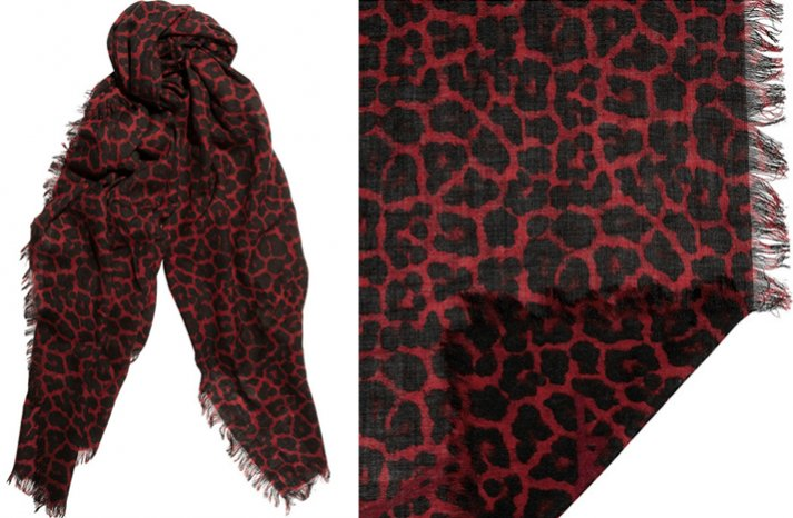 creative bridesmaid gift ideas leopard pashmina