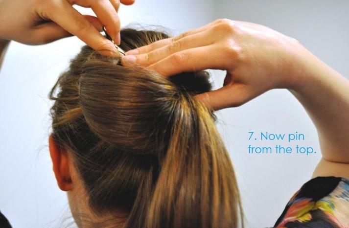 DIY wedding hair ideas bridal updo bow bun 8
