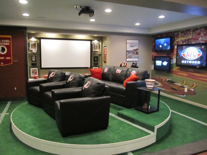 mancave for wedding reception fun