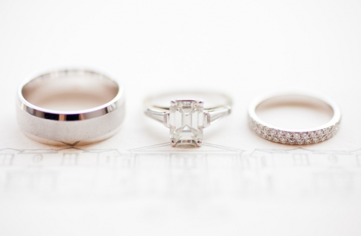 86 percent of women get engaged for the diamond engagement ring artistic wedding photo emerald cut