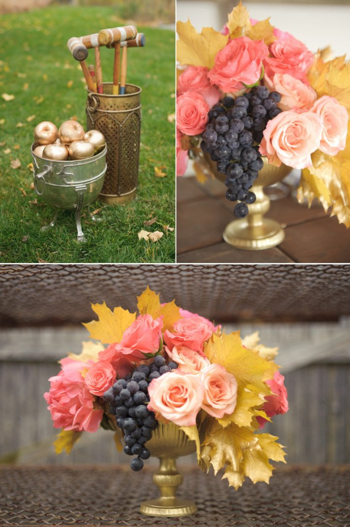 Sweet and Unique Wedding Centerpiece Idea