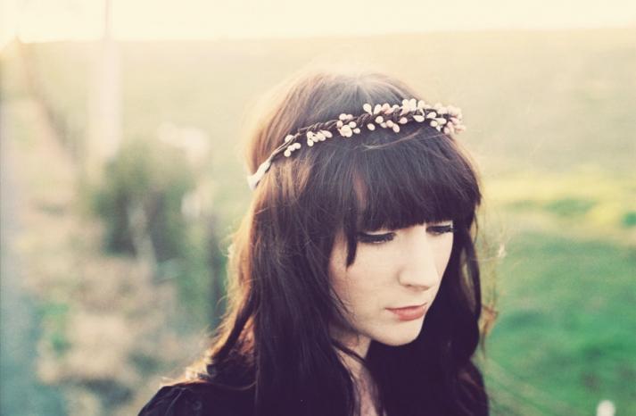 bohemian bride wedding hair accessories