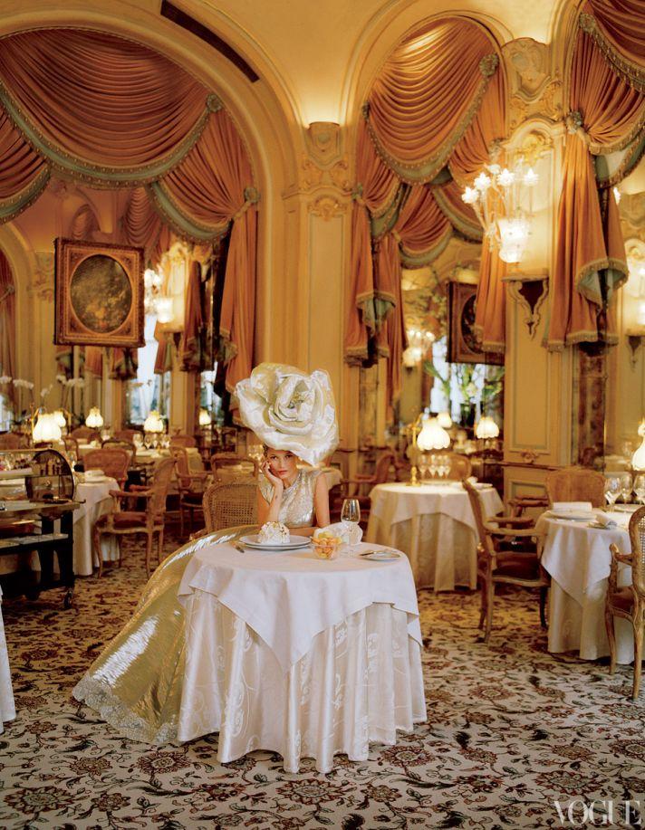 dramatic wedding inspiration kate moss elegant ballroom wedding venue oversized bridal hat
