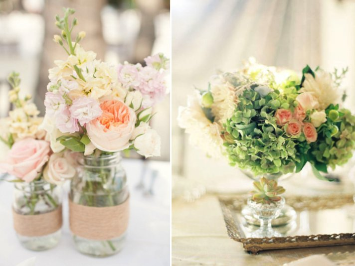 Centerpiece ideas for your spring wedding onewed