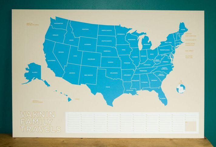 custom map for wedding reception decor travel themed wedding ideas 1