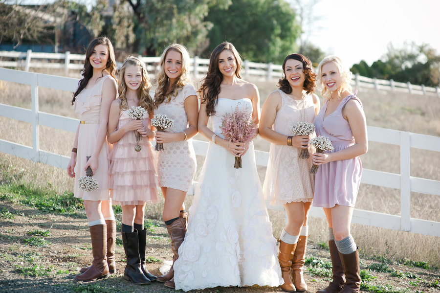 Emelins Blog Romantic Outdoor Wedding Country Western
