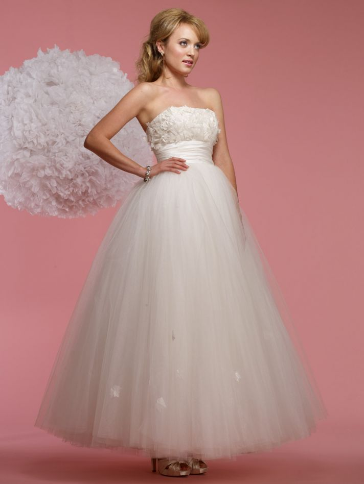 vintage inspired wedding dress 2012 bridal gowns steven birnbaum collection Aileen