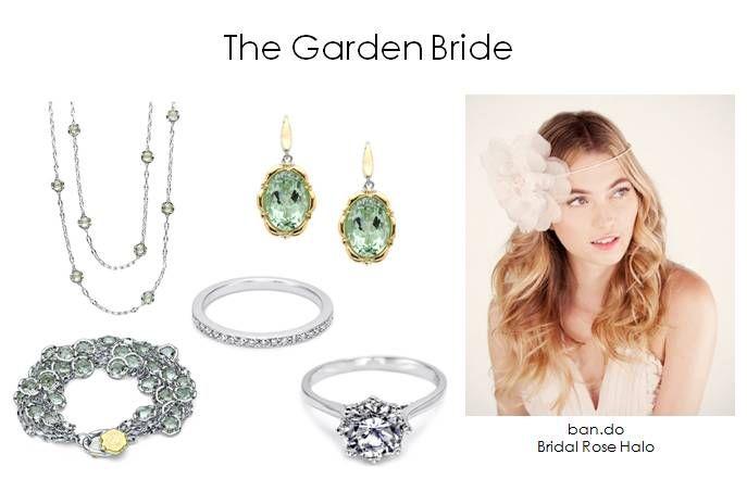 find your wedding style romantic garden bride