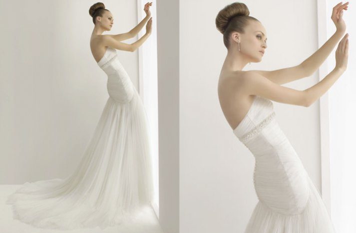 2012 wedding dresses soft by rosa clara bridal gown drop waist a line