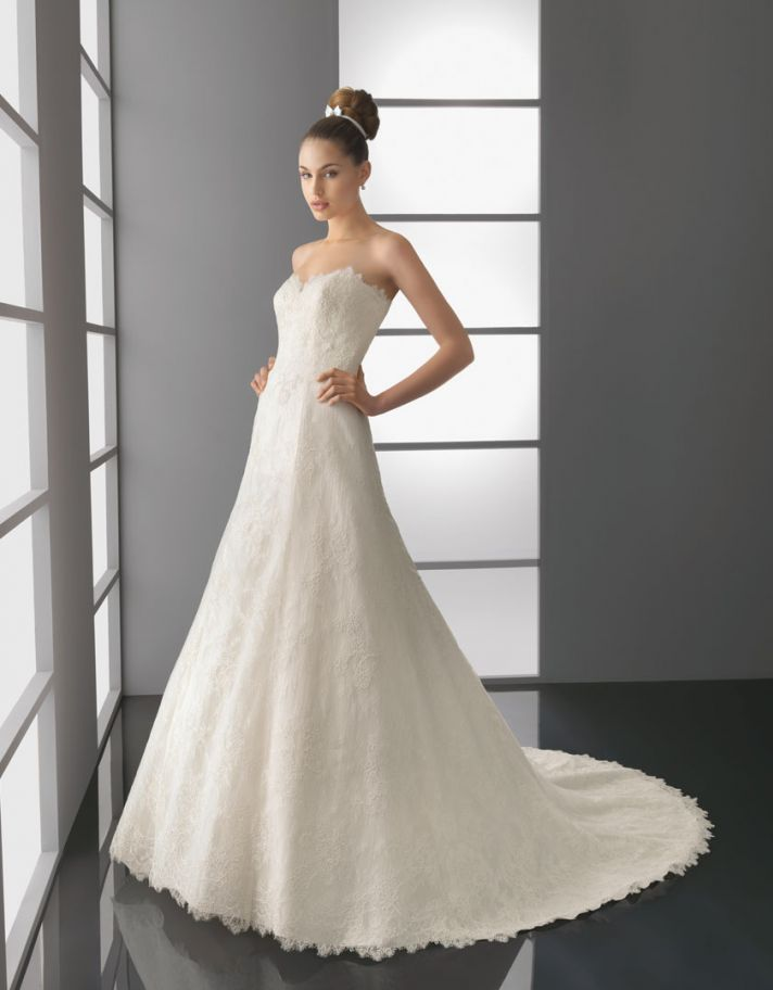 2012 wedding dress aire barcelona bridal gowns Paloma