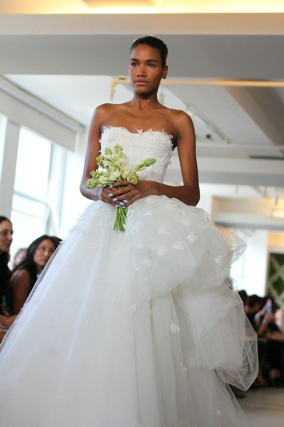 spring 2013 wedding dress Oscar de la Renta bridal gowns 4