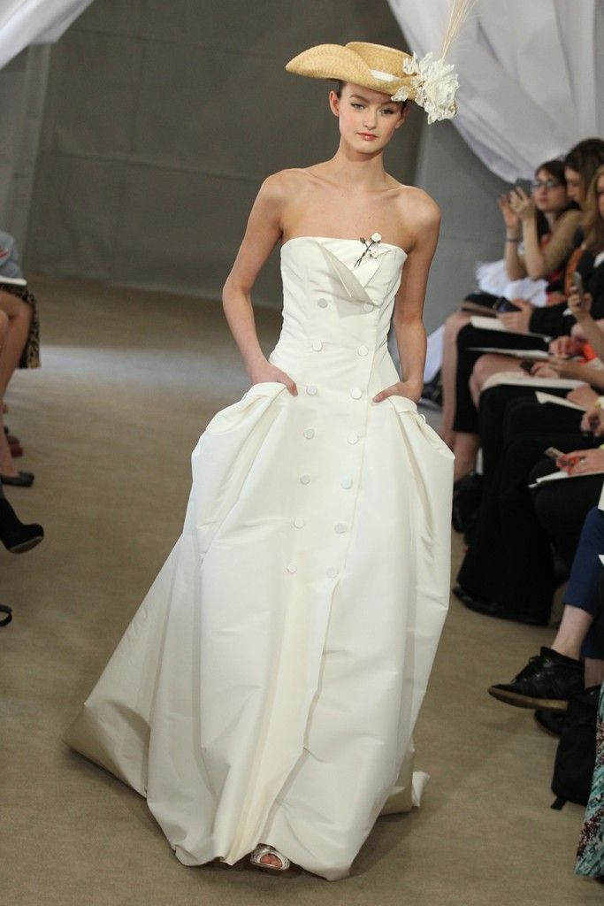 Spring 2013 Bridal Gowns By Carolina Herrera Onewed