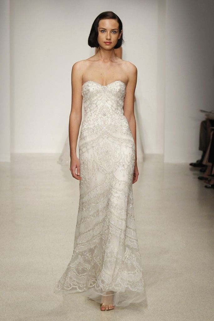 Romantic, Dramatic Wedding Dresses from the Spring 2013 Kenneth Pool ...