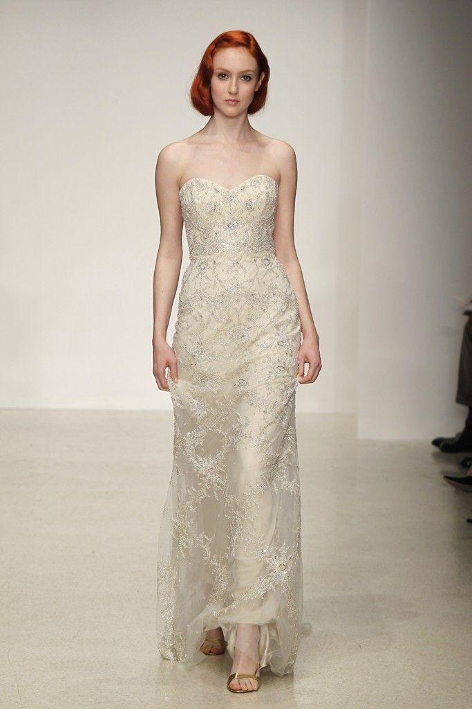 Spring 2013 wedding dress by Kenneth Pool bridal gowns 1