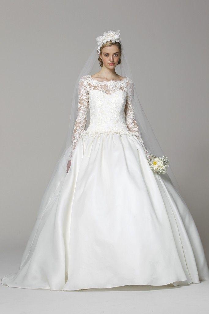 Marchesa wedding dress Spring 2013 bridal gowns Kate Middleton inspired