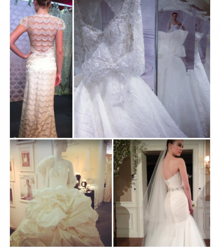 Favorite eco friendly wedding dresses from spring bridal for Eco friendly wedding dresses