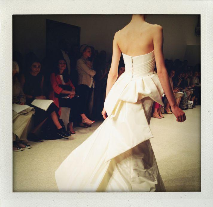 spring 2013 wedding dress bridal market runway 9