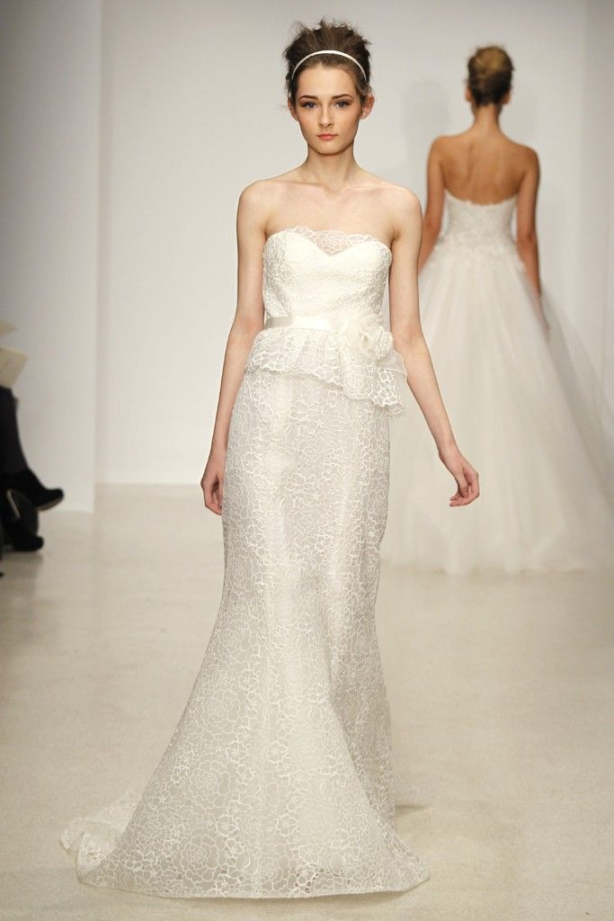 wedding dress by Christos Spring 2013 bridal gowns 7