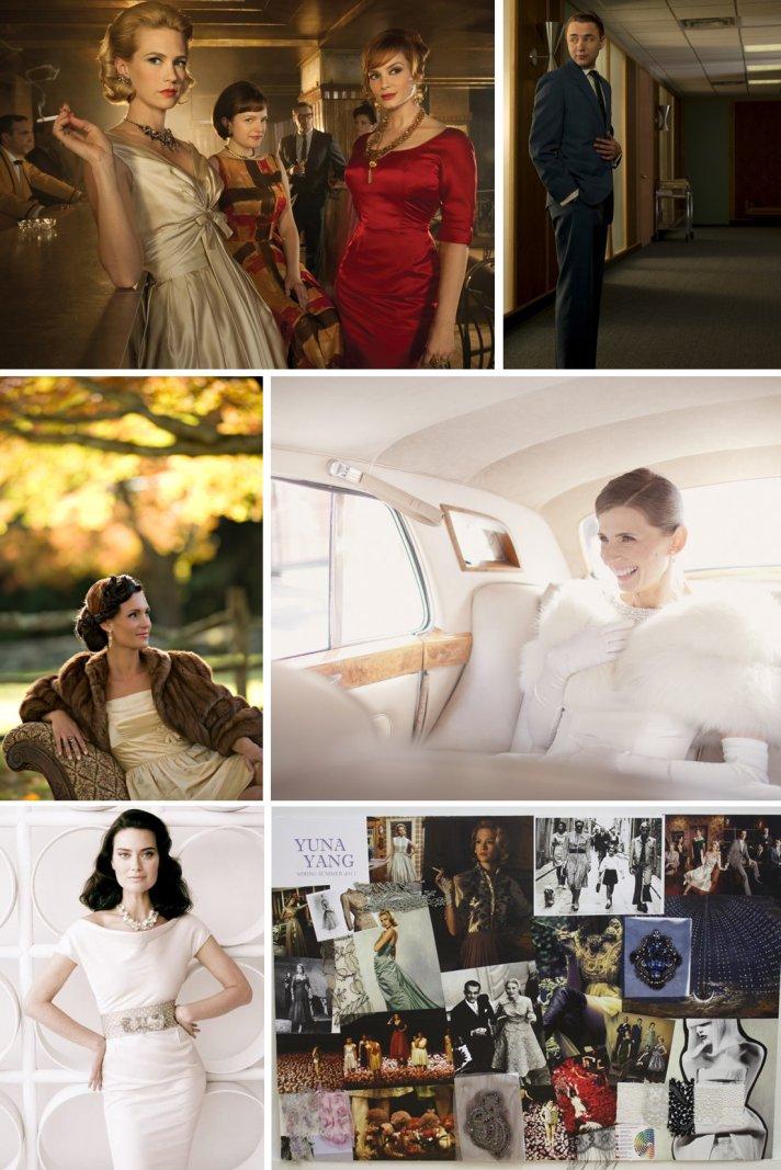 Mad Men wedding inspiration for vintage-inspired brides