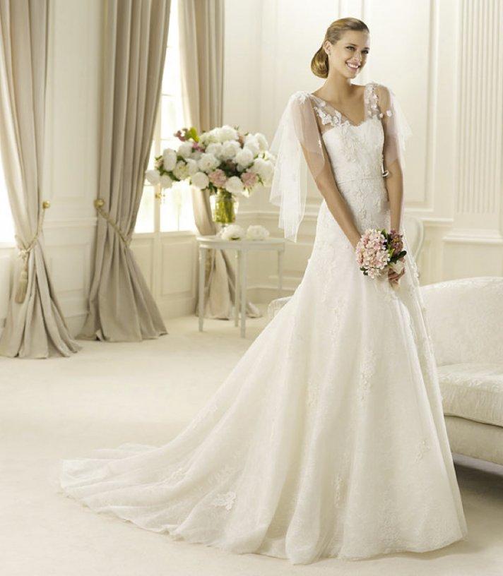 spring 2013 wedding dress manuel mota bridal gowns Galaxia