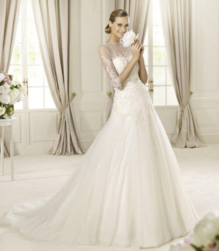 2013 wedding dress Pronovias Glamour collection bridal gowns Duquesa