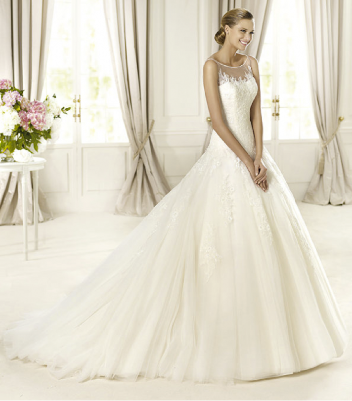 2013 wedding dress Pronovias Glamour collection bridal gowns Dolomita
