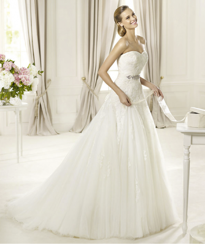 2013 wedding dress Pronovias Glamour collection bridal gowns Dagen