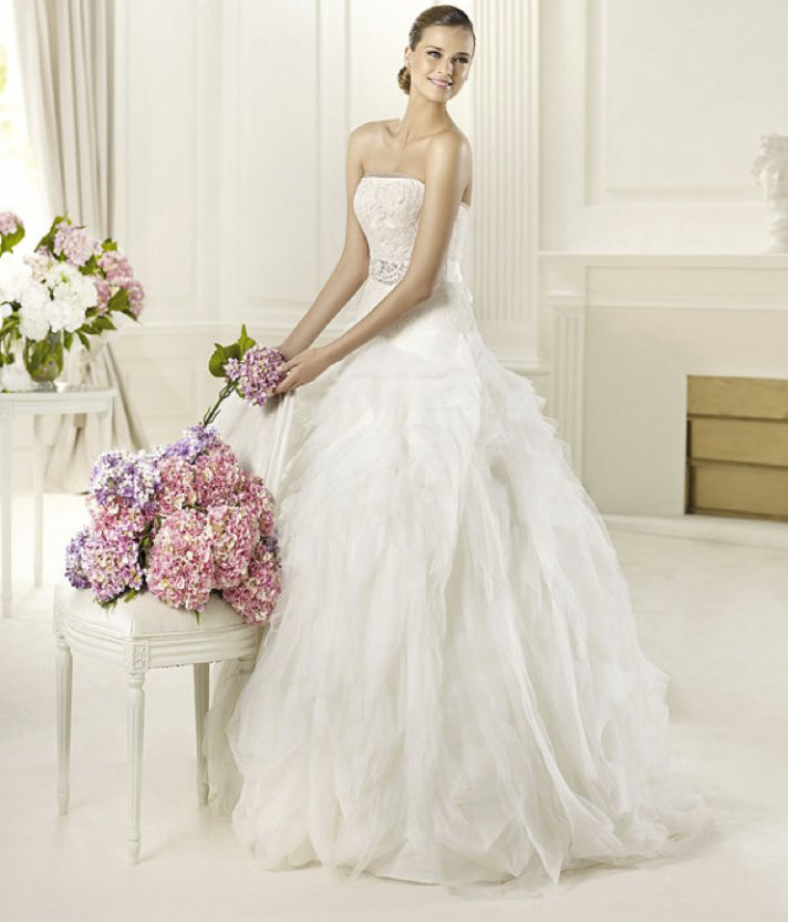 2013 wedding dress Pronovias Glamour collection bridal gowns Dorado