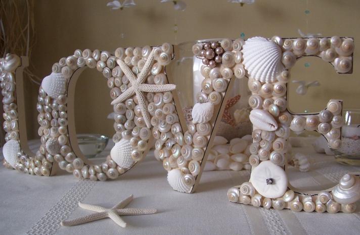 nautical beach weddings seashell wedding sign