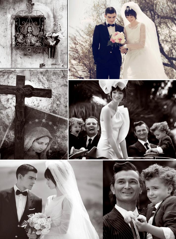 elegant outdoor wedding in italy