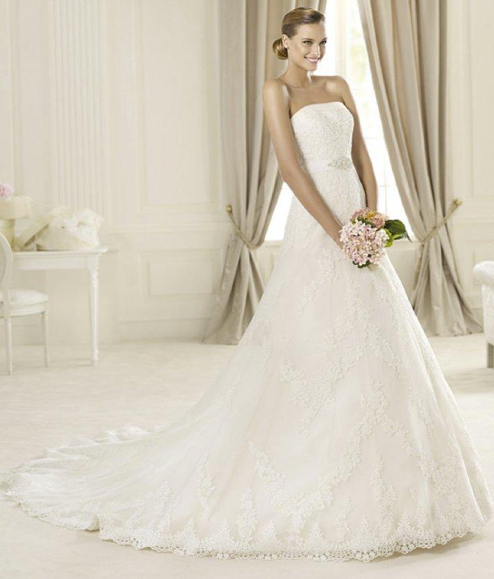 2013 wedding dress Pronovias Costura collection bridal gowns Dango