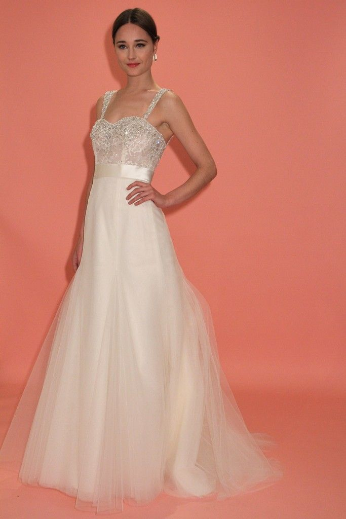 7 favorite wedding dresses from the latest badgley mischka for Wedding dress badgley mischka