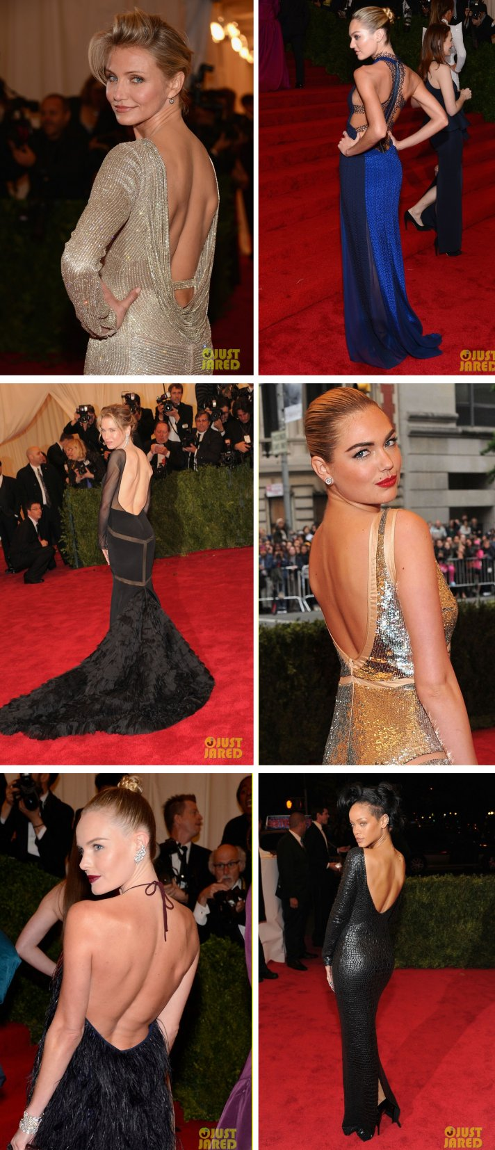 met ball 2012 bridal style trends open backs LWD