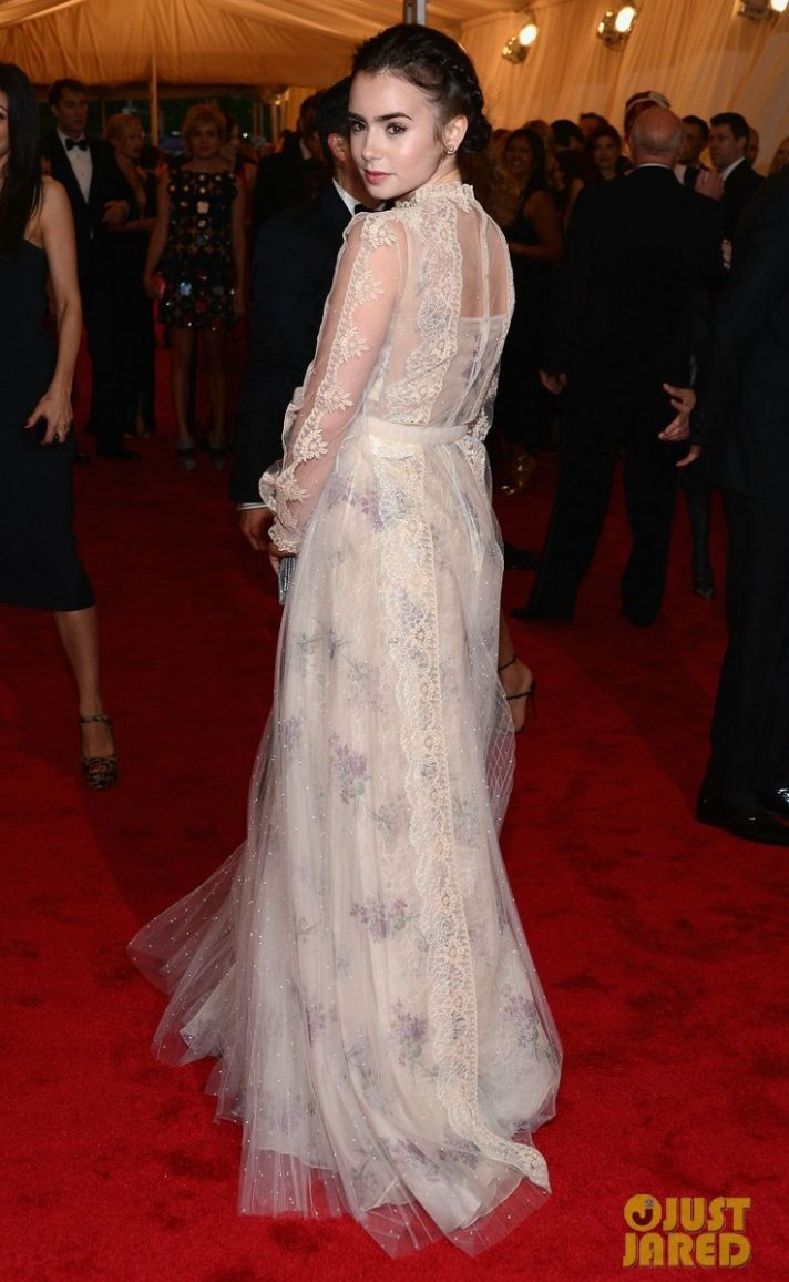 met ball 2012 wedding fashion trends bridal style inspiration floral prints Valentino