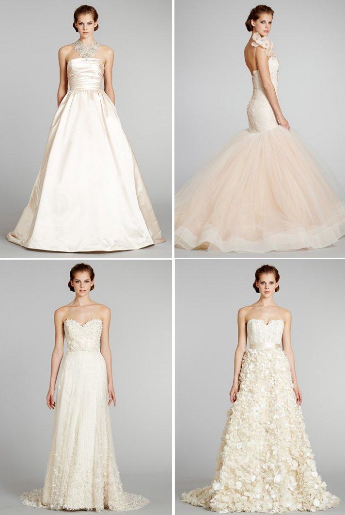 wedding dresses fall 2012 Lazaro bridal gowns 1