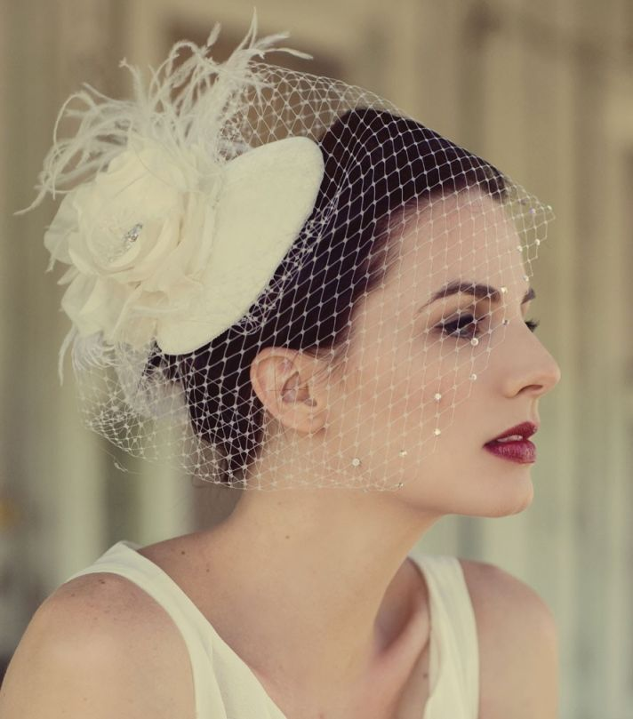 2012 2013 Wedding Trends Bridal Accessories Hats 2