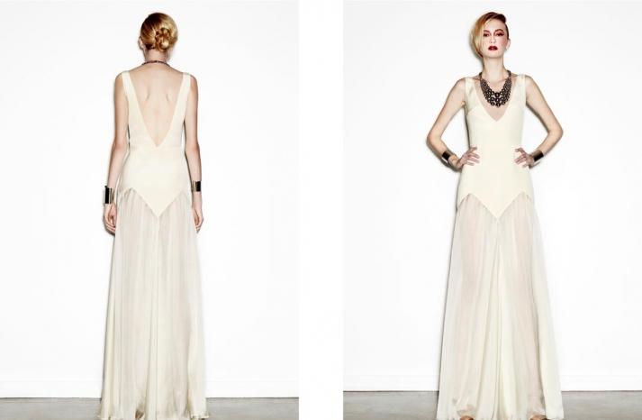 daring new wedding dress designer Houghton NYC bridal gowns 4