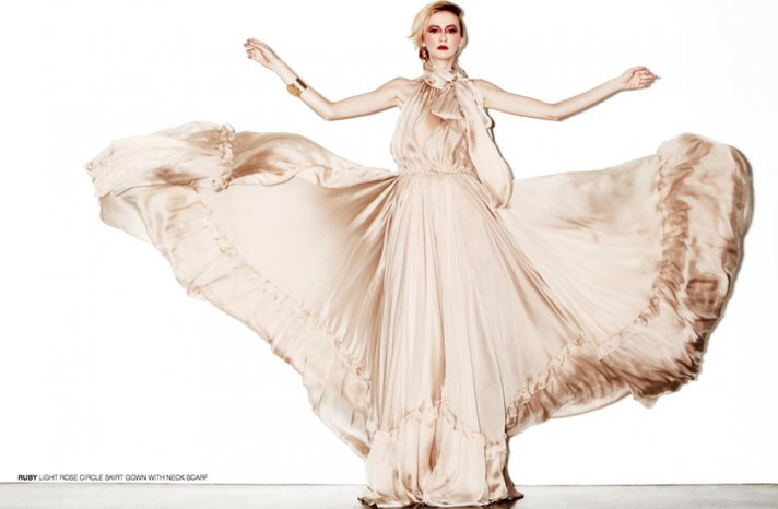 new bridal designer edgy wedding dresses by HOUGHTON 4