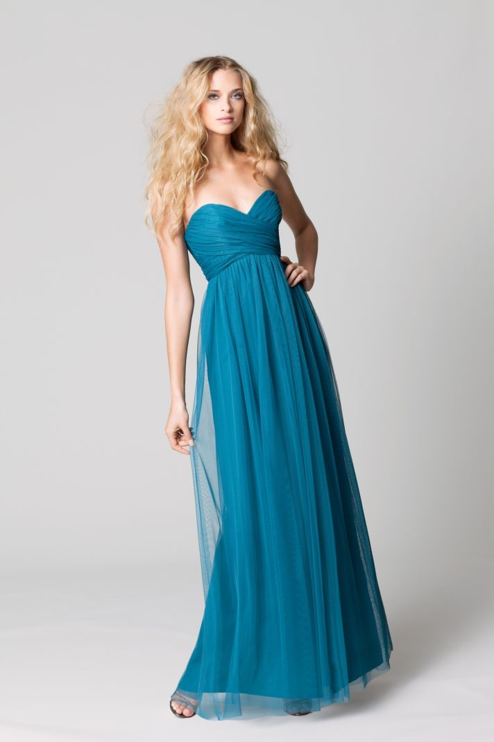 Fall Evening Dresses For A Wedding Reception Long Teal Bridesmaid Dresses