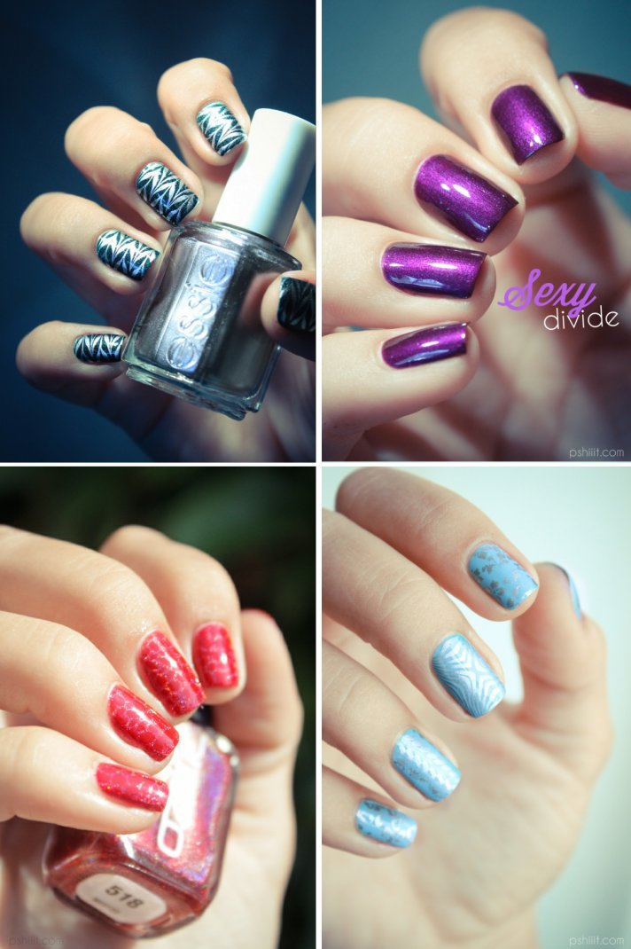 wedding beauty ideas unique bridal nail styles 3