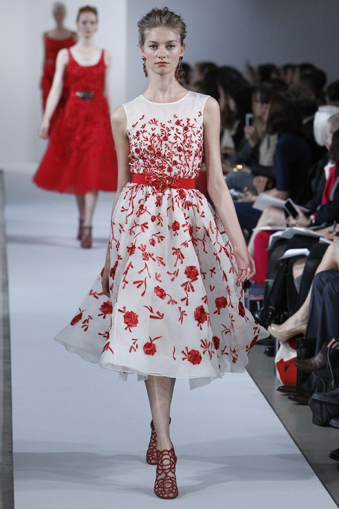 oscar de la renta wedding dress inspiration 2013 resort 3
