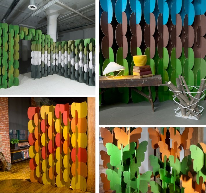 colorful wedding backdrops for ceremony or reception photobooth 2